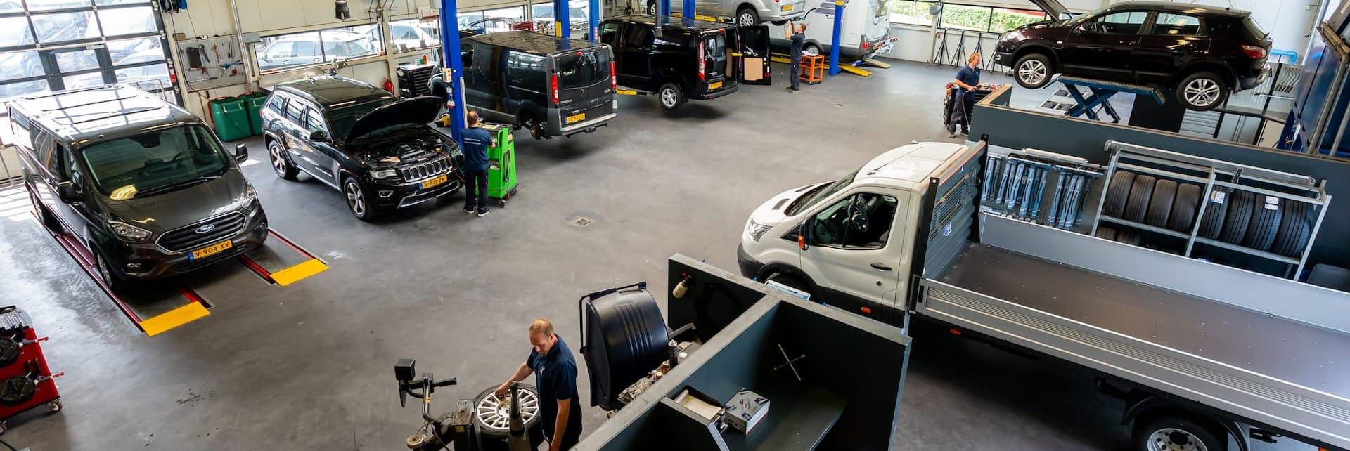 Werkplaats Koopman Bedrijfswagens